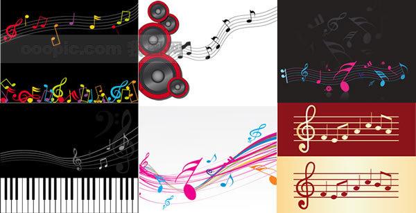 五线谱中常用的谱号有哪几种?你是否注意到,在乐谱每行的开头
