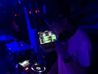 DJ 学员王阿彪河南潮人会所酒吧做场照片