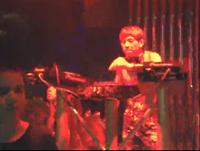2014年3月份学员朱桂林酒吧活动现场打碟