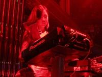 顶尖DJ学员何香凝1912酒吧做场照片
