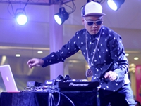 顶尖DJ老师刘阳万圣节打碟现场