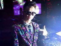 顶尖DJ学员郑业权福建酒吧做场照片