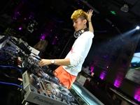 顶尖DJ学校学员李玉国先锋DJ大赛现场