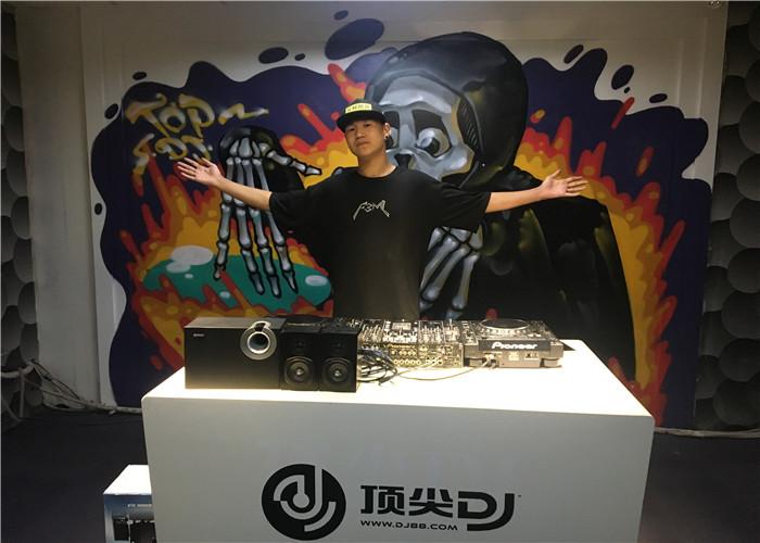 河南顶尖DJ学校学员刘海亮毕业考试